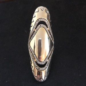 House of Harlow oversize ring.